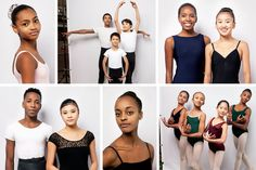 Push for Diversity in Ballet Turns to Training the Next Generation - The New York Times