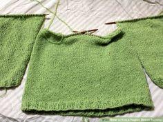 Image titled Knit a Raglan Sleeve Sweater Step 4