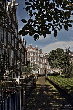 foto van Begijnhof Amsterdam