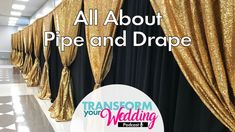 All About Pipe and Drape Backdrops