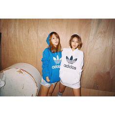 hotsootuff: #MyCrew #LoveTrefoil #Tubular ❤️ #sister #sujin #hotsootuff
