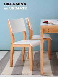 Sumá calidez y diseño con la #silla Mina de #Unimate. Mirá más sillas para tu casa en www.unimate.com.ar