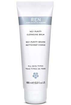 No.1 Purity Cleansing Balm, REN.  This smells great and cleanses ALL waterproof, smudge proof, makeup. I use this if I am using a tough to remove mascara.