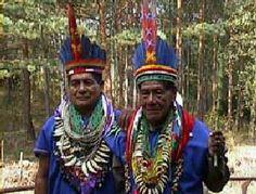 Indigenas del Putumayo, Colombia