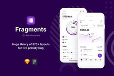 Fragments iOS Wireframe Kit is the latest trends of *iOS components and its design system incorporates all Nested Symbols and Layer Styles. With the help of customizable layouts, you can create and easily edit your templates to suit your mobile app needs. Motion Design, Design Thinking, Design Ios, Dashboard Design, Graphic Design, Delivery App, Wireframe, Layer Style, Design System