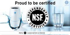 eSpring NSF/ANSI 401 certifikace