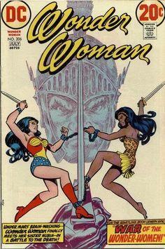 Wonder Woman #206. I think I had this one.