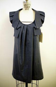 Grey + Shirt. Via ETSY.