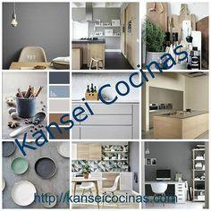 cocinas-online Heart, Home Decor, Decorating Kitchen, Kitchen Units, Focal Wall, Leaving Home, Color Coordination, Fingernail Designs, Decoration Home