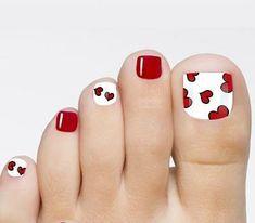 Pretty Toe Nails, Cute Toe Nails, Fancy Nails, Toe Nail Art, My Nails, Purple Toe Nails, Purple Toes, Pretty Toes, Nail Nail