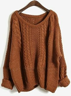 AHH I WANT THIS SWEATER! It's the perfect fall color!