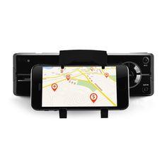 auna MD-640 Autoradio Bluetooth SD USB Smartphonehalterung - schwarz: Zum vergrößern Bild anklicken!