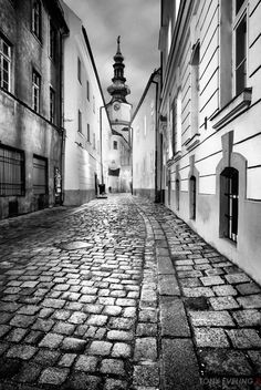 black and white rule of thirds photography   Bratislava in black and white • Tony Eveling Photography