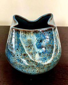Ice over Indigo Float Slab Pottery, Glazes For Pottery, Ceramic Pottery, Pottery Art, Glazing Techniques, Ceramic Techniques, Pottery Techniques, Ceramic Glaze Recipes, Amaco Glazes