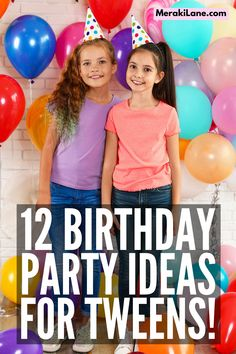 12 Tween Birthday Party Ideas   If you're organizing a birthday party for boys or for girls in the tween years, you need to find ideas that are fun but also cool. This post has tons of inspiration, from themes, to food, to games and activities. Whether you're organizing an at home birthday party or sleepover in spring, summer, fall, or winter, these ideas are unique, creative, cute, and cool all at the same time, and since they are DIY, they're cheap to boot! 12th Birthday Party Ideas, Boy Birthday Parties, Pop Star Party, Local Movies, Scary Mommy, Kids Writing, Summer Fall, Spa Day, Sleepover