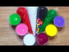 In this satisfying video I am adding too much things, random things to slime, relaxing sounds, crunchy slime. Slime Uk, Diy Slime, Sliming World, How To Make Slime, Satisfying Video, Make It Yourself, Youtube, Latest Video, Asmr