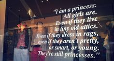 All girls are princesses...