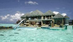 Beach house in Bora Bora