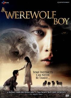 """Jo Sung-hee's romantic fantasy film """"A Werewolf Boy"""" starring Song Joong-ki, Park Bo-young, Lee Young-lan, and Yoo Yeon-seok is now available on DVD. Park Hae Jin, Park Seo Joon, Song Joong Ki, Movies For Boys, Good Movies, Live Action, A Werewolf Boy, Romance Film, Fantasy Romance"""