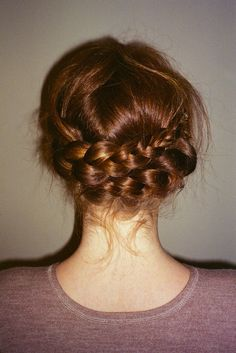just one more braid idea, I actually really want hair this color