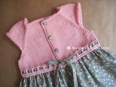 Risultati immagini per cucire corpino a maglia a gonna stoffa