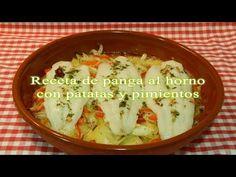 Recetas de cocina con sabor tradicional: Receta de panga al horno con patatas y pimientos