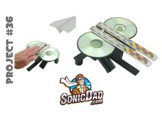 How to Make a Paper Airplane Launcher that Really Rips: SonicDad Project...