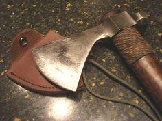 Elite Knives by John Horrigan hammerpole tomahawk close-up