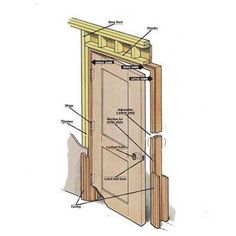 Illustration by: Gregory Nemec | thisoldhouse.com | from How to Install a Prehung Door