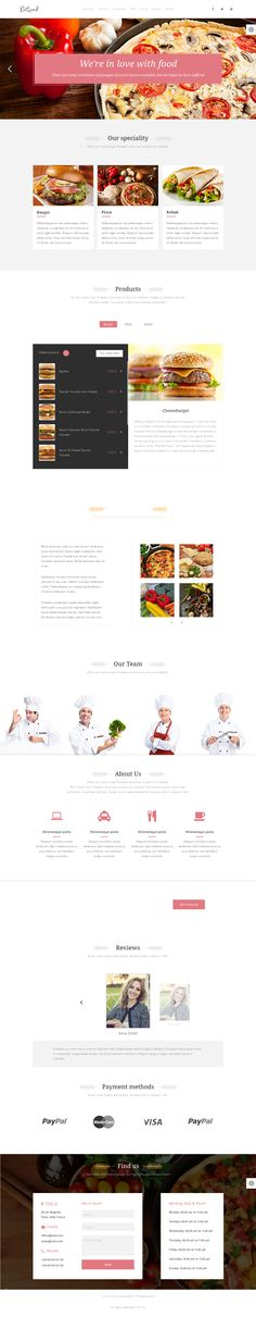 EatLand is an food business eCommerce Landing Page with unique features. #website #template