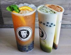 Split Cup Drinks / Dual Cup Links! Guide on where to get these with boba / milk tea!