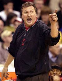 Bob Huggins: The best coach the Bearcats ever had. Sacking him was incredibly stupid. We miss you, Huggs