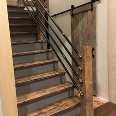 Unordinary Diy Stairs To Rock This Year 21 Basement Stairs DIY Rock Stairs Unordinary Year Painted Staircases, Painted Stairs, Basement Renovations, Home Remodeling, Stair Renovation, Basement Designs, Basement Steps, Basement Bathroom, Teen Basement