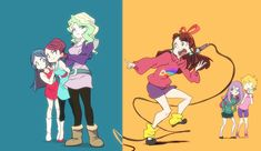 Gravity Falls x Little Witch Academia