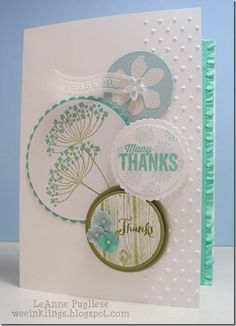 LeAnne Pugliese WeeInklings Paper Players 188 Summer Silhouettes Thank You Stampin Up -2