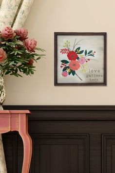 Framed Floral Wall Art by Stratton Home on @HauteLook