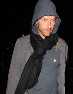 hoodie & scarf Chris