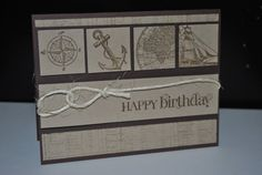Stampin up Birthday Card Dad Brother by SplitCoastCreations
