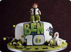 Ben 10 Cake by kdjokova, via Flickr