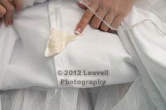 Piece of grandmothers wedding dress - something old