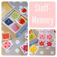 Ein Memory Spiel aus Stoffresten machen