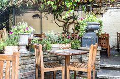 The Windsor Castle Pub Beer Garden