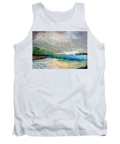Tank Top - Abstract Landscape 1525