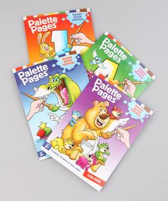 Take a look at this Palette Pages Paperback Set by Beaver Books on #zulily today!