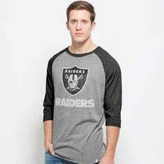 Oakland Raiders '47 Brand Black Crosstown Pirate Tee - Click to ...