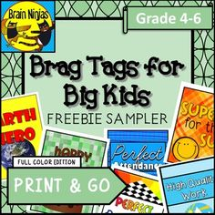 Celebrate the successes of your older students with this sample set brag tags… Behavior Rewards, Behaviour Management, Classroom Behavior, Classroom Management, Class Management, Classroom Organization, Classroom Decor, Free Teaching Resources, Teaching Aids