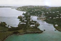 Flatt's Inlet with hotel on right