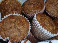 High protein gluten free fiber packed muffins