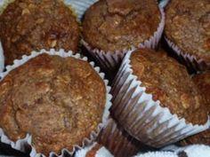 High protein gluten free fiber packed muffins