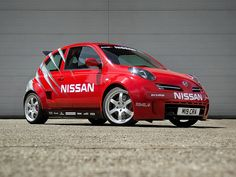 New 2010 Nissan Micra Boasts Turbo and Supercharger - (Global) Nissan 350z, Nissan March, Nissan Infiniti, Engine Swap, Fast Cars, Cool Cars, Engineering, Vehicles, Random